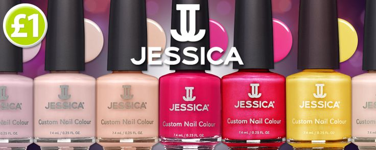 Jessica nail polish on sale now, only £1! http://www.poundshop.com/health-…/hand-nail-care/nail-colour
