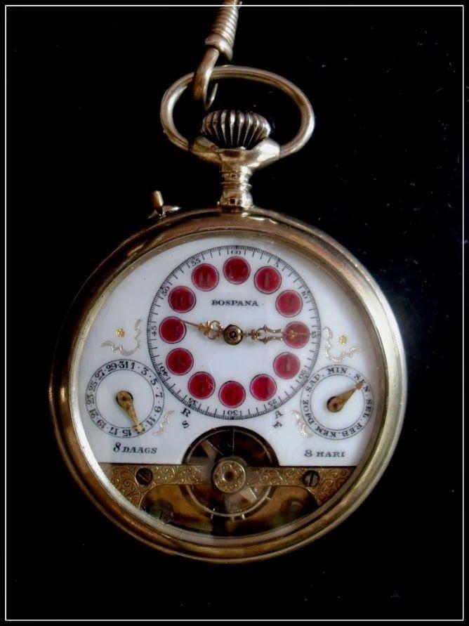 Hebdomas Day Date 1930 An Bahasa Indonesia Zeta Amani Watch In 2019 Vintage Interior Design Watches Pocket Watch