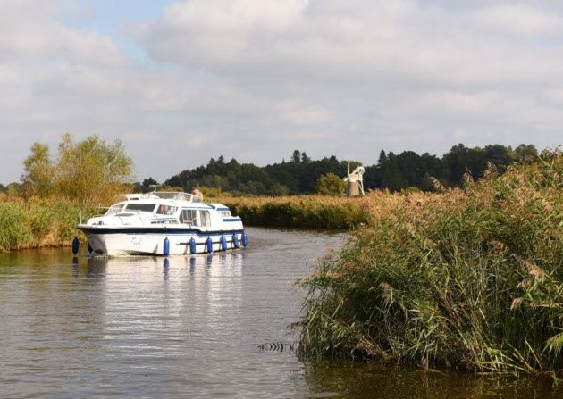 The Norfolk Broads. Picture: James Bass