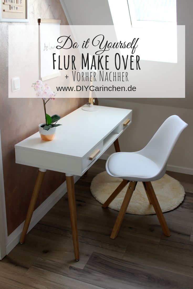 Diy Flur Make Over Inklusive Vorher Nachher Streich Tipps Ideen Zum Selbermachen Fur Zu Hause Zuhause Diy Selbstgemachte Dekoration