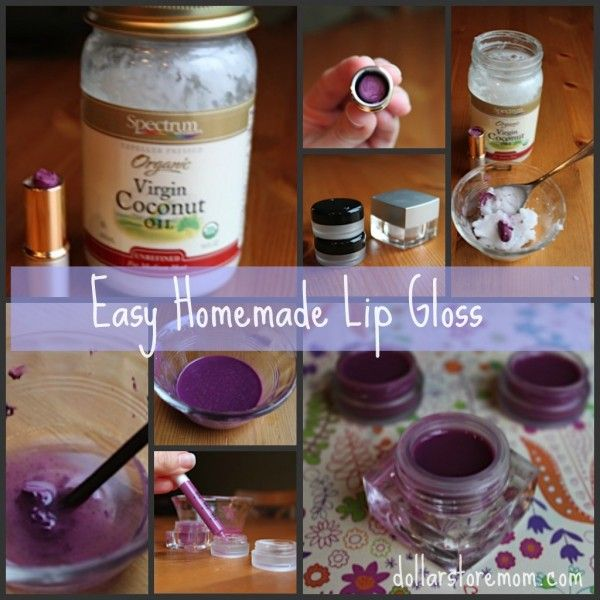 Homemade Natural Colored Lip Gloss