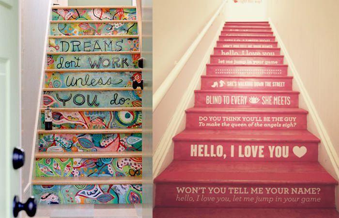 DIY Wohnideen: Treppen gestalten