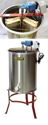 honey bee extractor how to use