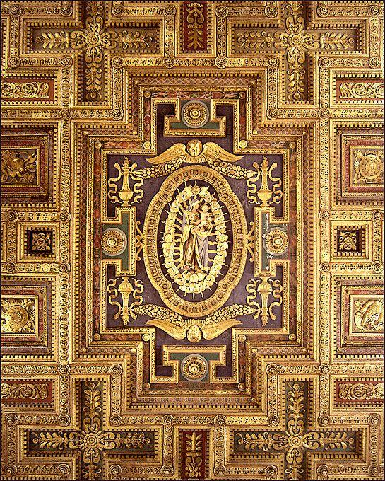 Rome, Italy, Santa Maria in Aracoeli ceiling