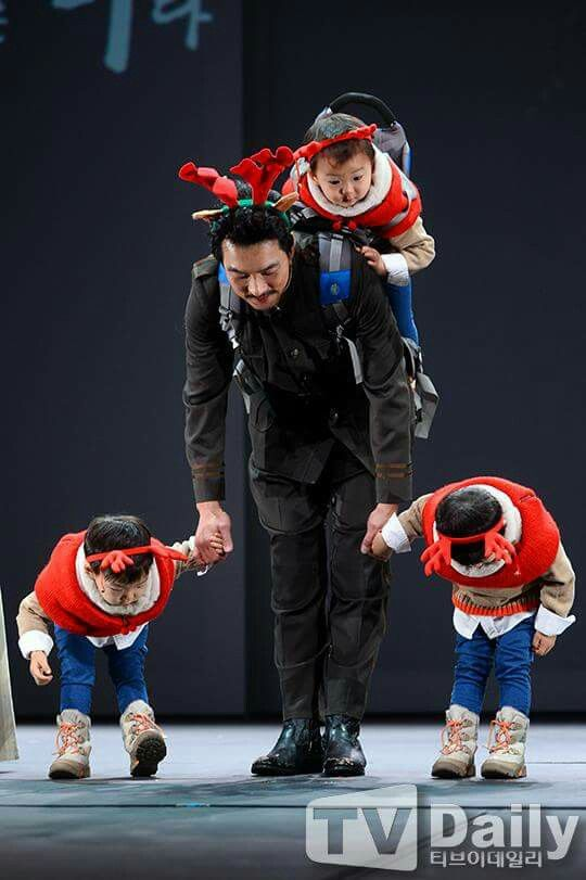 Song Triplets with daddy, Song Il Kook