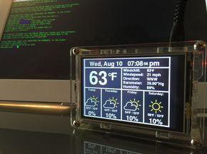Raspberry Pi Internet Weather Station   Raspberry Pi hacks