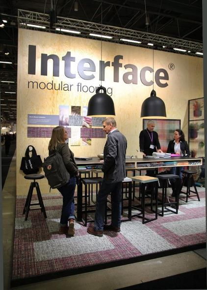 Welcome to the Interface stand and Stockholm Furniture Fair 2017. #2017sff #design #interiordesign