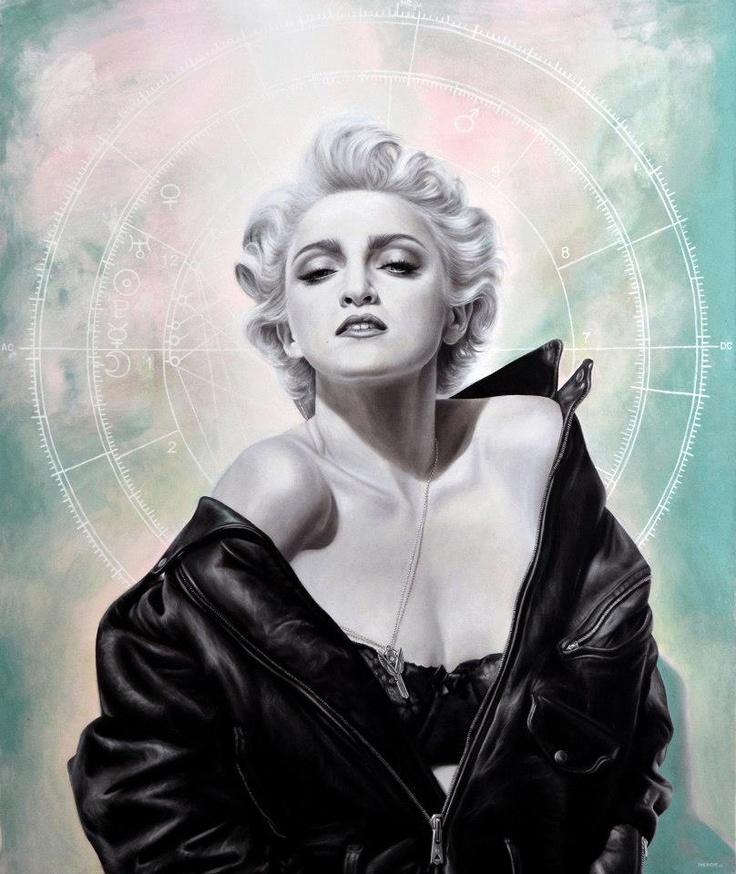 MDNA - oil on canvas 100x120 cm