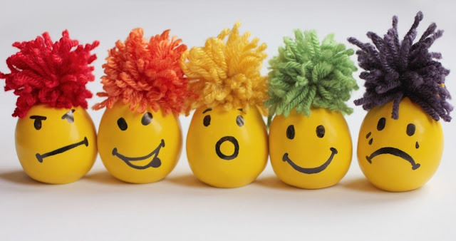 Make your own stress balls with a balloon and flour.