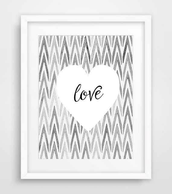 Best 25+ Chevron wall art ideas on Pinterest | Chevron ...