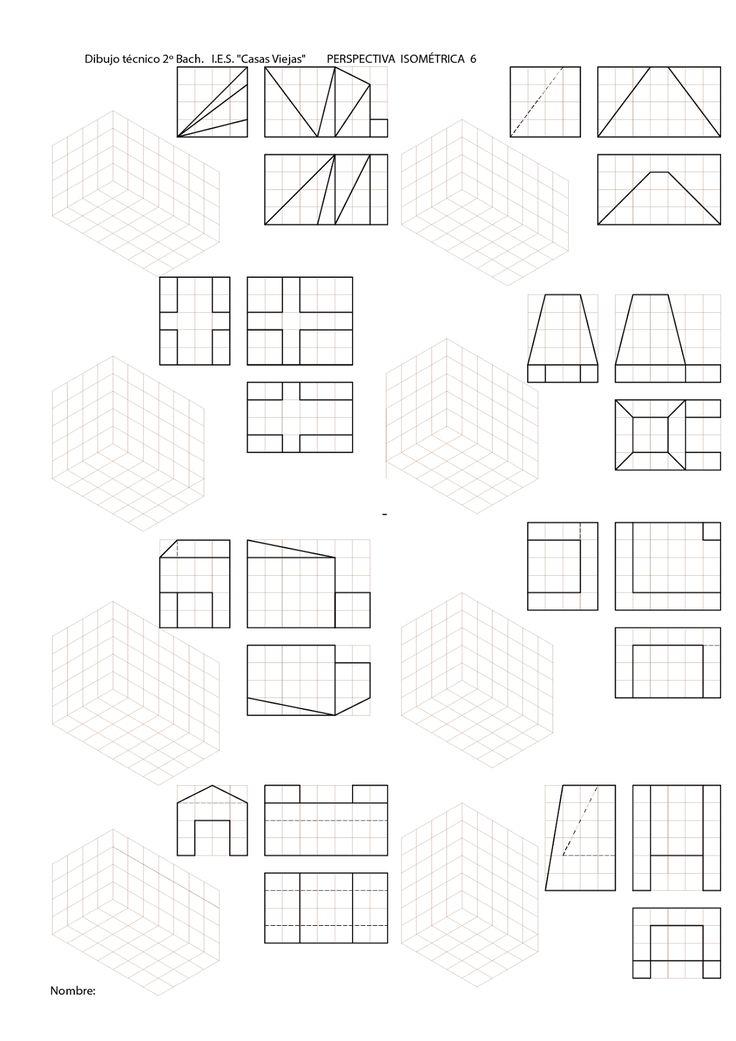 Blog sobre dibujo técnido de bachillerato. Sistema Diédrico.