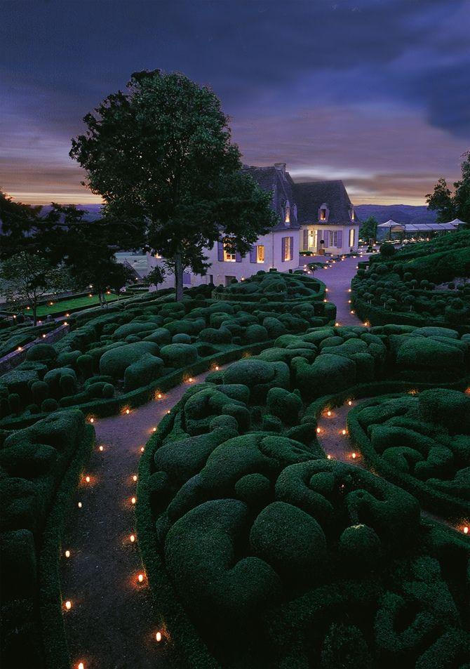 Les Jardins de Marqueyssac, France.