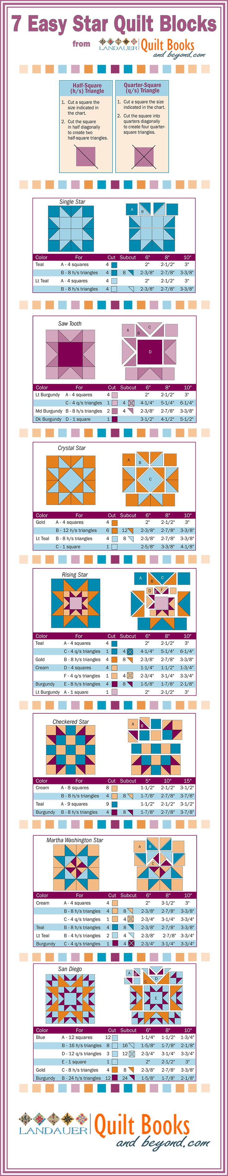 Coloring pages quilt squares - There Are Literally Hundreds Of Patchwork Star Blocks Making Quilts With Stars Some Of The