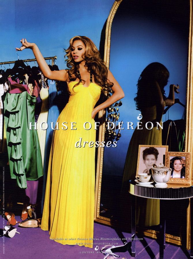 House of Dereon: Beyonce     Ad Fever  