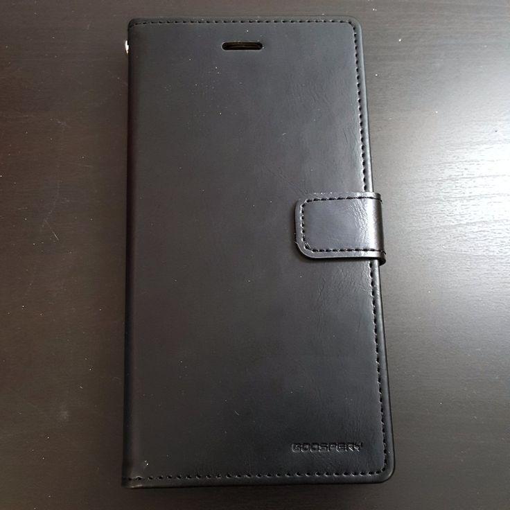 Samsung Galaxy Grand Prime - Goospery Blue Moon Diary Case - 17.45$