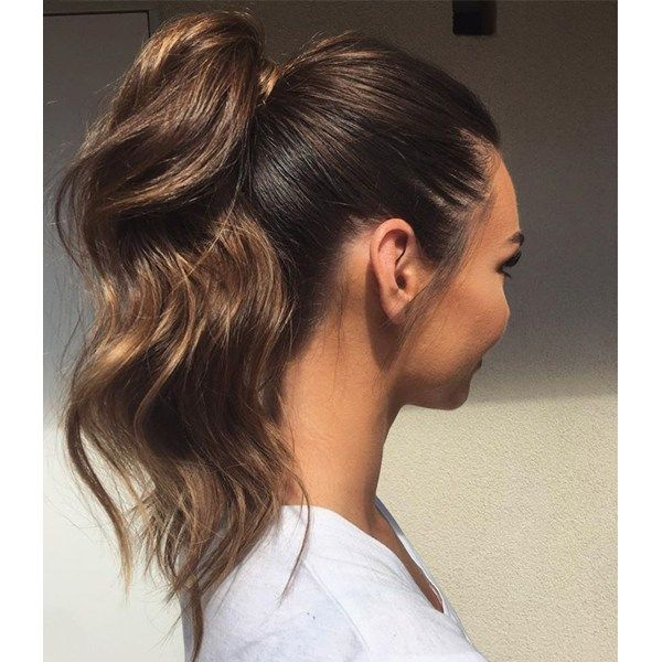 Dramatic Ponytails Behindthechair Com Messy Hairstyles Medium Hair Styles High Ponytail Hairstyles