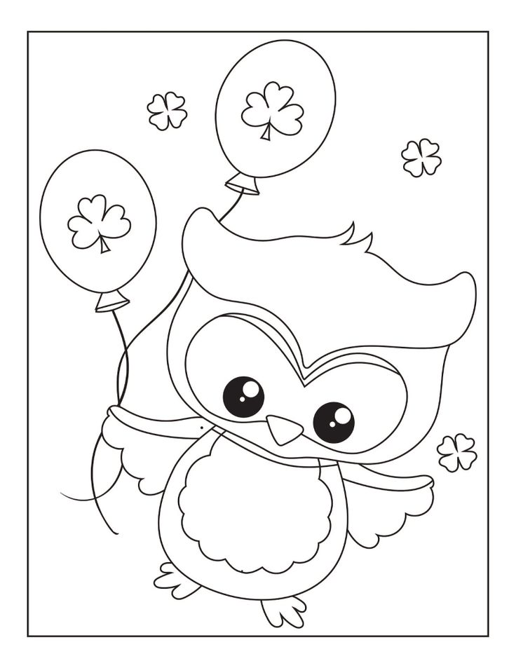 31++ St patricks coloring pages free ideas