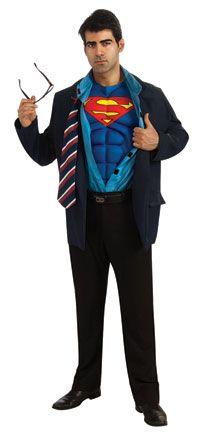 Adult Clark Kent Muscle Chest Superman Costume – Superman Costumes « Mutant Faces