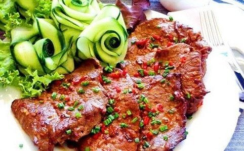 Thịt bò nướng cay