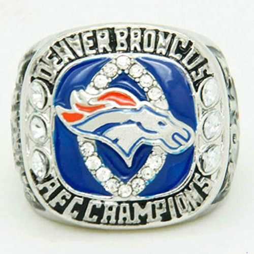 Are you a proud Denver Broncos fan? - Silver Plated - While Supplies Last! Limit 10 Per Order Please allow 4-6 weeks for shipping due to high demand Item Type: Rings Metals Type: Zinc Alloy Sizes: 8,