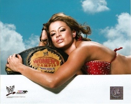 p-86064-candice-michelle-with-women-s-title-belt-wwe-8x10-cotg-8wwe-cmich04.jpg (422×336): Tna Knockout, Wwe Title, Candice Michelle, Wwe Divas, Brandon S Stuff, Divas Wwe