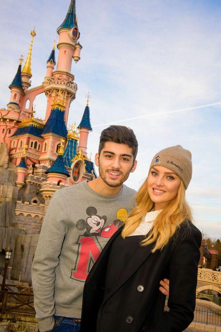 Perrie Edwards and Zayn Malik at Disneyland Paris  #PerrieEdwards  #ZaynMalik  Zayn Is An Angel