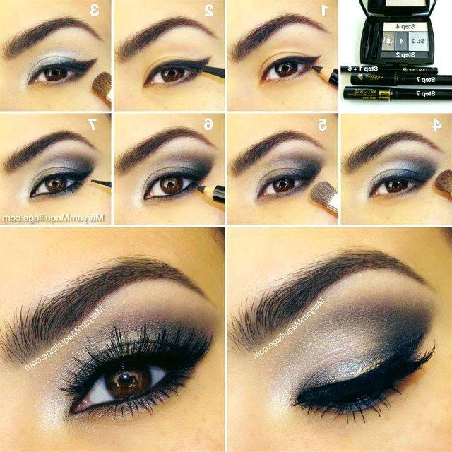 13 Glamorous Smokey Eye Makeup Tutorials Fur Atemberaubende Party