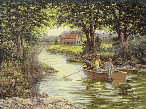 JAMES Lumbers Grandpa's Boat
