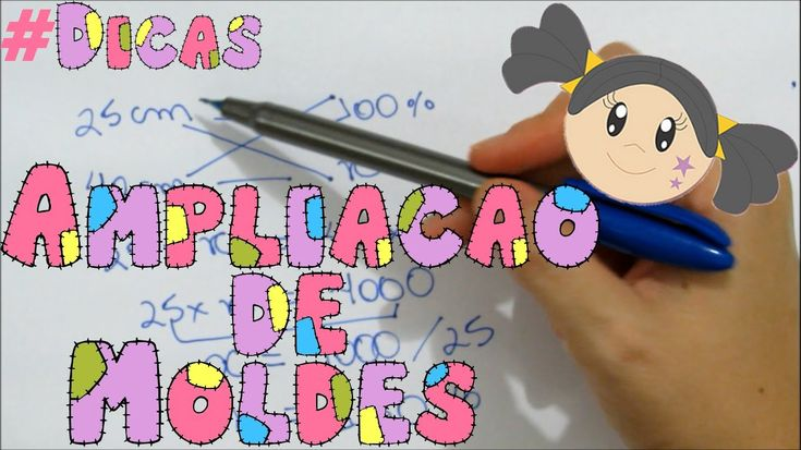 Ampliação e Redução de Moldes - Dica com Priscila Cunha
