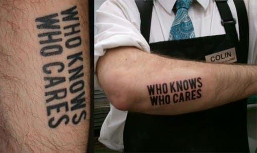 15 Things Only People With A Horrible Tattoo Will Understand