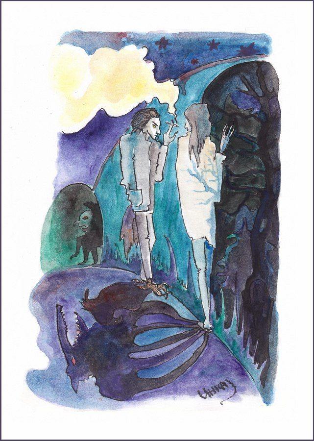 Стервятник и Слепой by Инна Майзель
