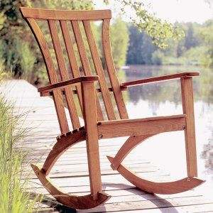 Outdoor Wood Rocking Chairs on Hayneedle - Wooden Outdoor Rocking Chairs