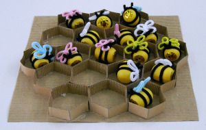 pareoula μελισσάκια- μαράκες
