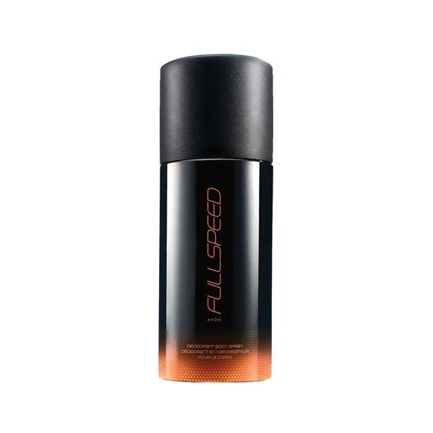 Az AVON Full Speed kölnihez tartozó deo spray egy vérforraló illat, mely felébreszti az érzékeket és kalandra hív.