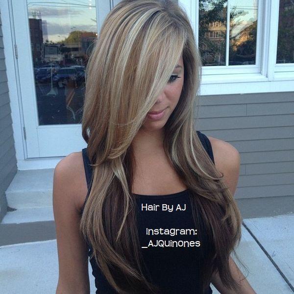 Long Balayage Highlights - Hairstyles and Beauty Tips