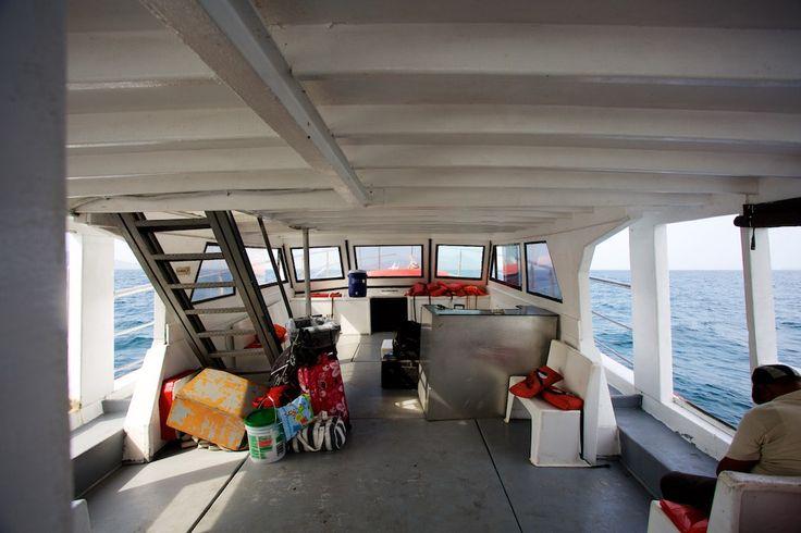 #Panama: Mit der Fähre Calypso von Panama City nach #IslaTaboga #reiseblog #traveller #ferry