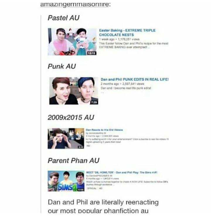 Tumblr YouTube Danandphilgames Amazingphil Danisnotonfire Phan