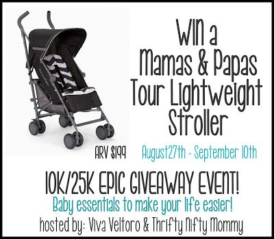ConservaMom: Mamas & Papas Tour Lightweight stroller Giveaway ends 9/10