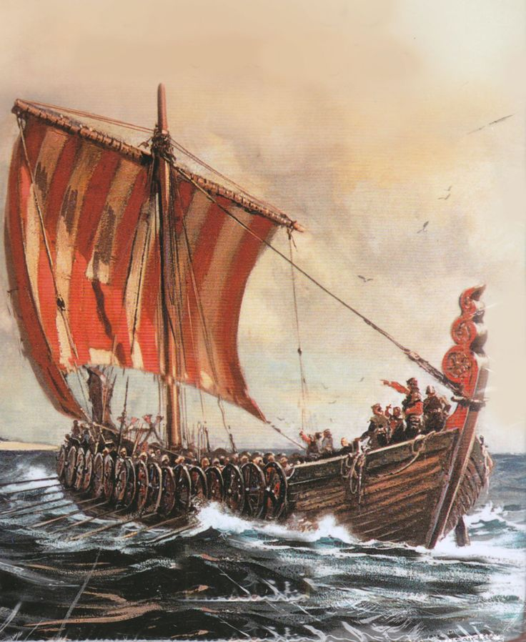 Viking longboat | warriors | Pinterest | Miniature and Vikings