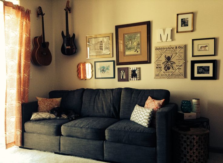 Living room complete with our GSP pup, Penelope. | Home ...
