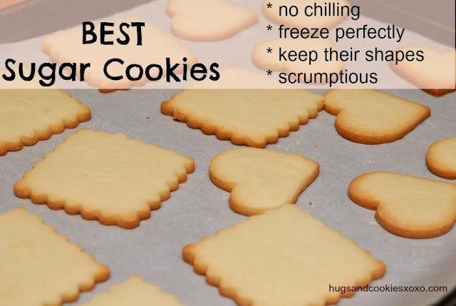 Hugs & CookiesXOXO: BEST SUGAR COOKIES FOR HOLIDAY DECOARTING!