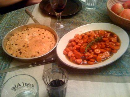 Traditional Michaelmas dinner