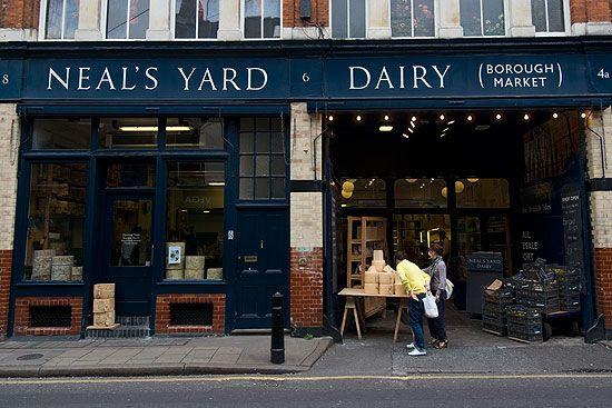 neal's yard dairy - borough market