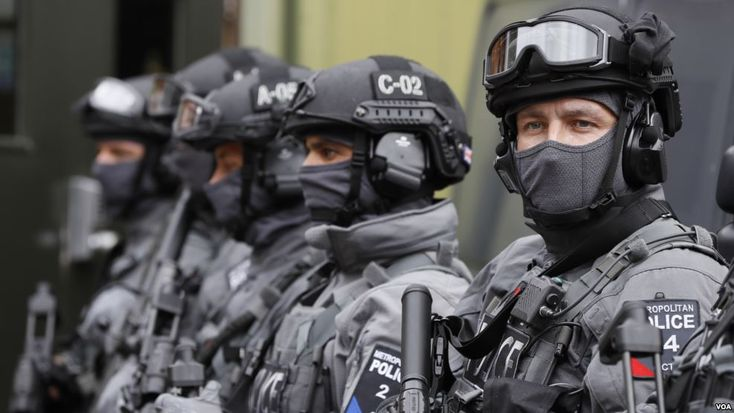 Counter Terrorist Special Firearms Officers...