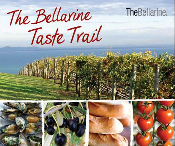 The Bellarine Taste Trail.  Explore and taste the fine famers produce as you meander your way along this famous trail  #bellarinetastetrail