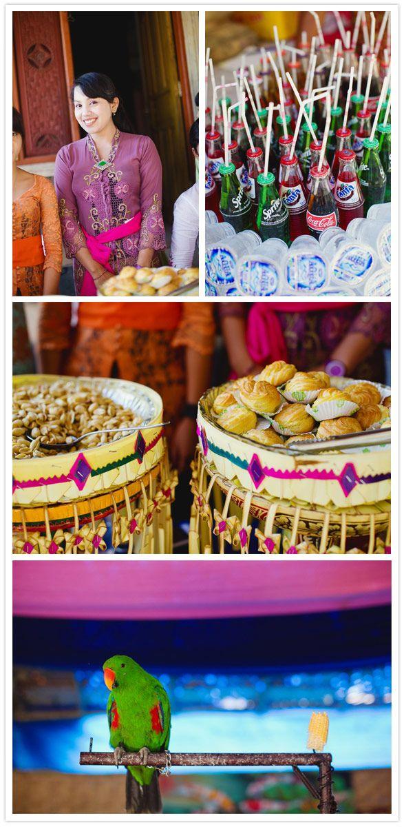 Colorful Balinese Wedding