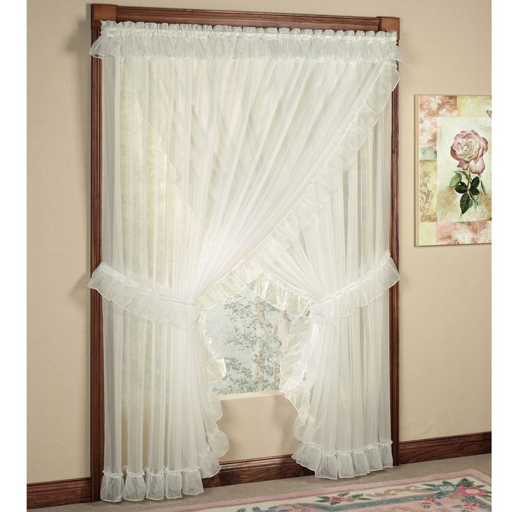Jessica Ninon Ruffled Wide Priscilla Curtains