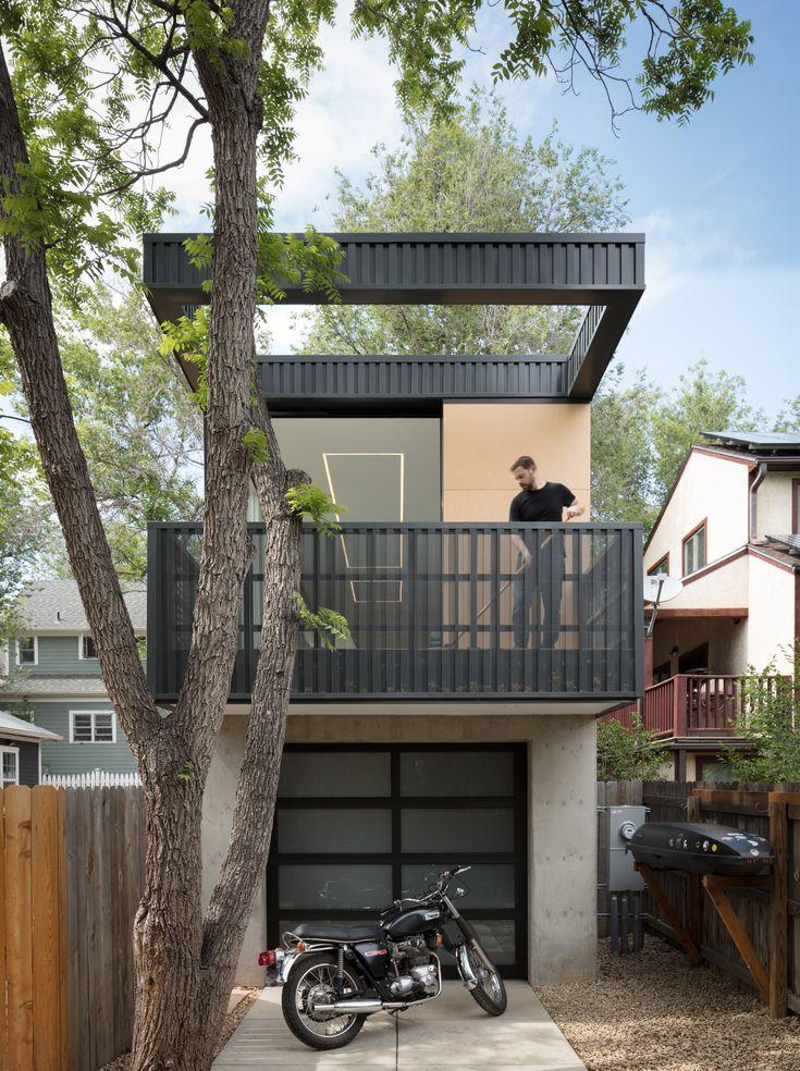 Long narrow shotgun homes influenced the design