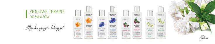 Organic Life - Sklep - Kategoria - Terapie ziołowe do włosów #zrowie   #eco  #cosmetics