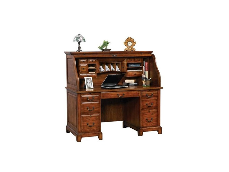 Winners Only Home Office 57 Zahara Roll Top Desk Gz257r Sims Furniture Ltd